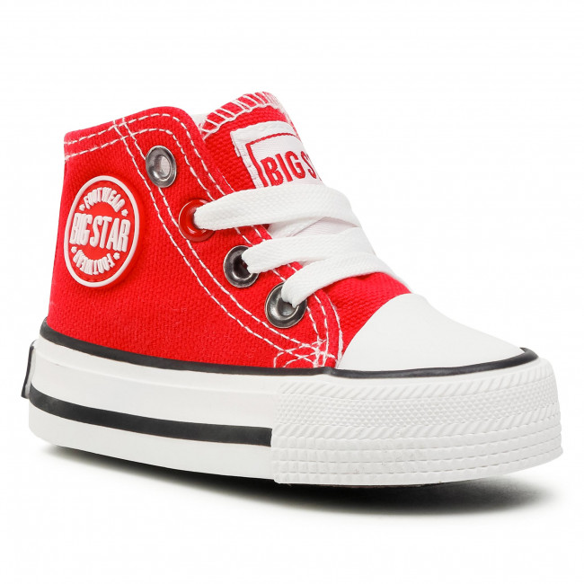 Sneakers BIG STAR - HH374190  Red