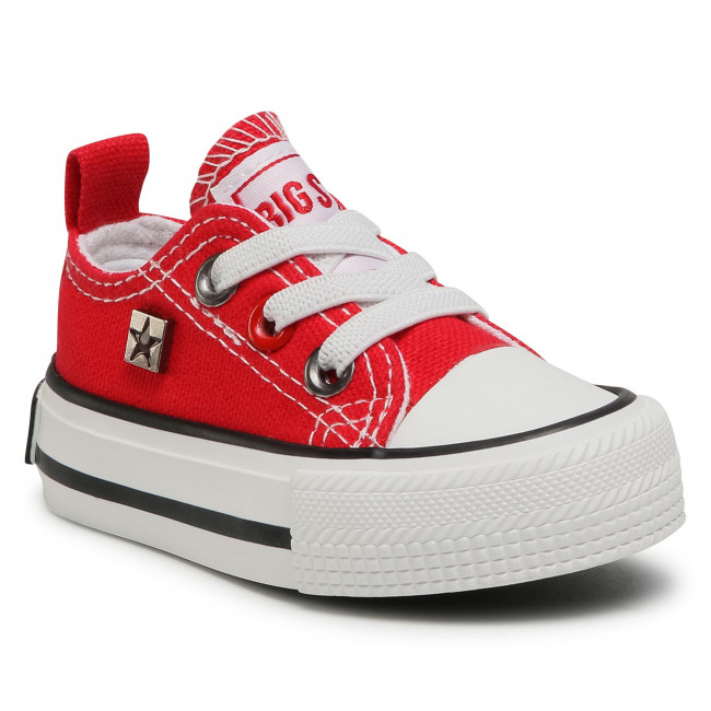 Sneakers BIG STAR - HH374196 Red