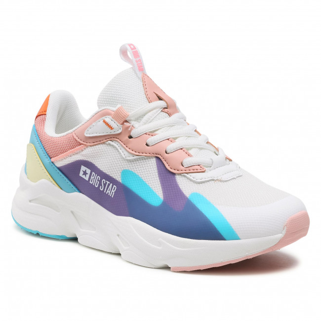 Trainers BIG STAR - HH274809 White/Pink