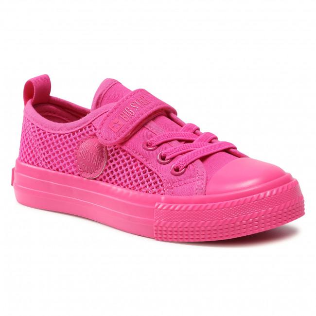 Sneakers BIG STAR - HH374019 Fuchsia