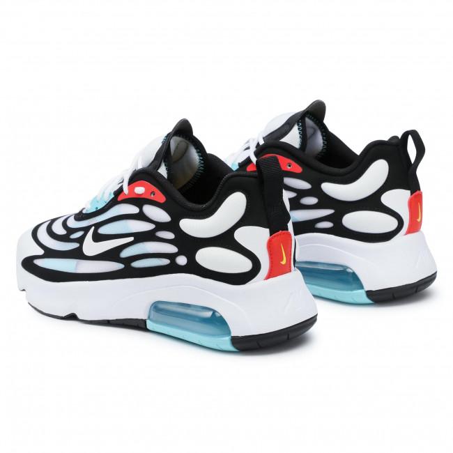 Footwear NIKE - Air Max Exosense CK6811 100 White/White/Black/Chile Red