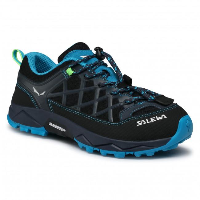 Trekker Boots SALEWA - Jr Wildfire 64007-3847 Ombre Blue/Fluo Green