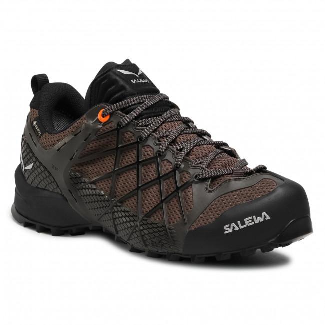 Trekker Boots SALEWA - Ms Wildfire Gtx GORE-TEX 63487-7623 Black Olive/Wallnut