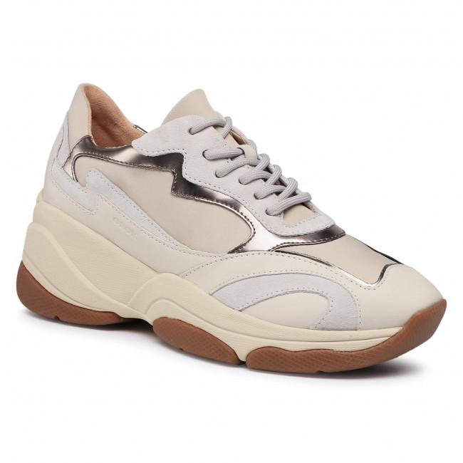 Trainers GEOX - D Kirya B D92BPB 01122 C5K1Q Cream/Off White