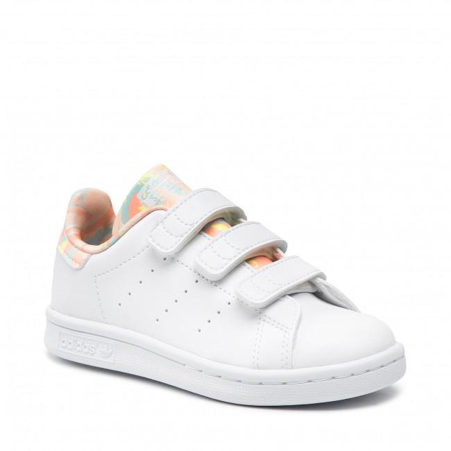 Footwear adidas - Stan Smith Cf C H06551  Ftwwht/Hazcor/Ftwwht
