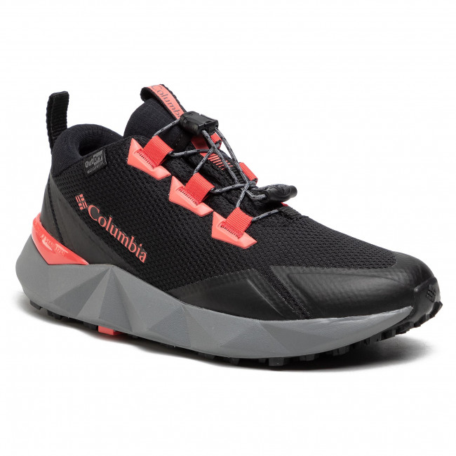 Trekker Boots COLUMBIA - Facet 30 Outdry BL0132 Black/Red Coral 012