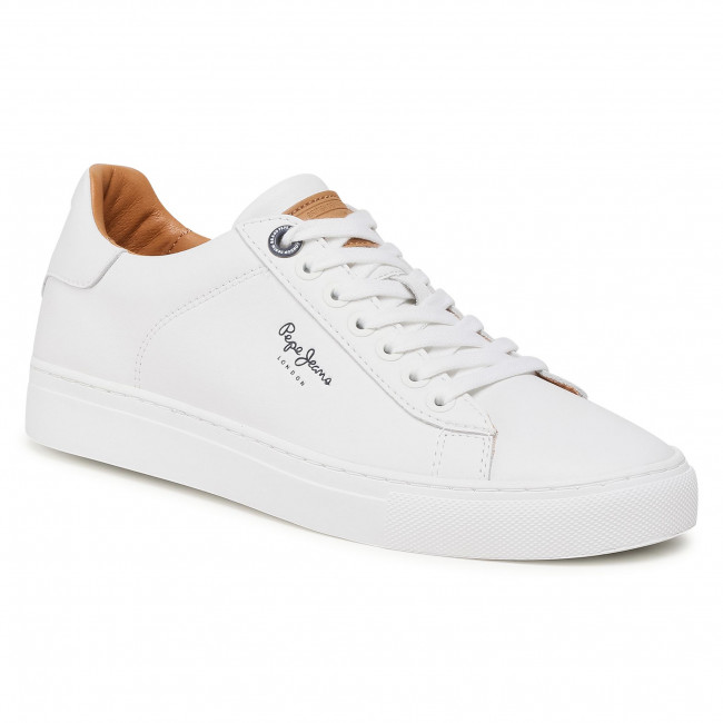 Trainers Pepe Jeans Joe Cup Pms30724 White 800 Sneakers Low Shoes Men S Shoes Efootwear Eu