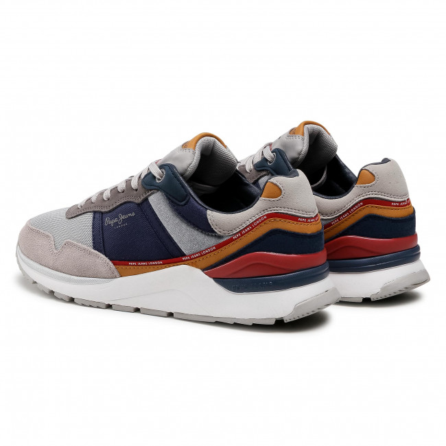Trainers Pepe Jeans X20 Basic Sport Pms30751 Grey 945 Sneakers Low Shoes Men S Shoes Efootwear Eu
