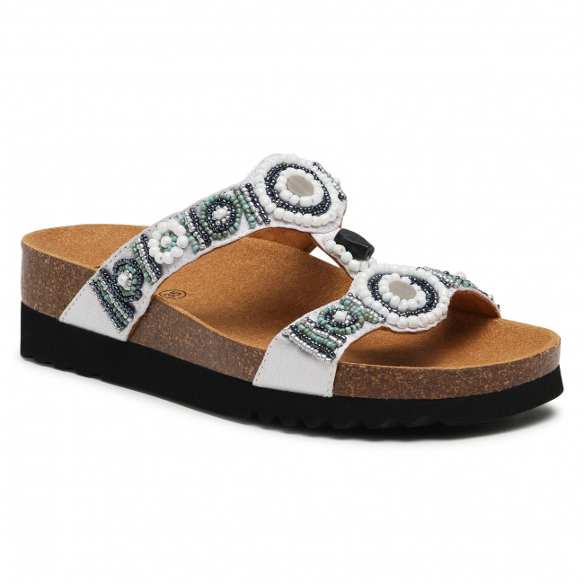 Slides SCHOLL - New Bogota Wedge F26607 2283 350 Silver/Multi