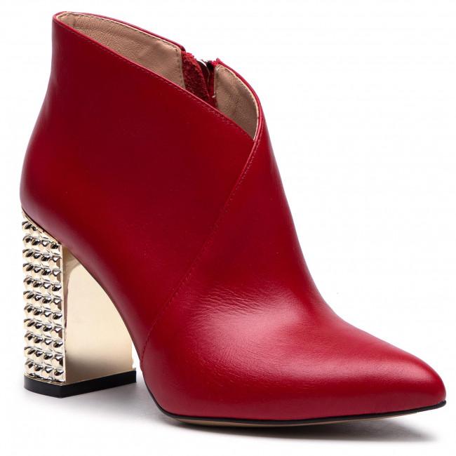 Ankle boots R.POLAŃSKI - 0975 Czerwony Lico 1