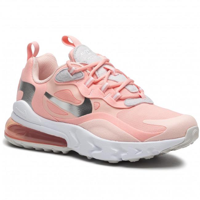 Footwear NIKE - C Air Max 270 React Gg Q5420 611 Bleached Coral/White/White