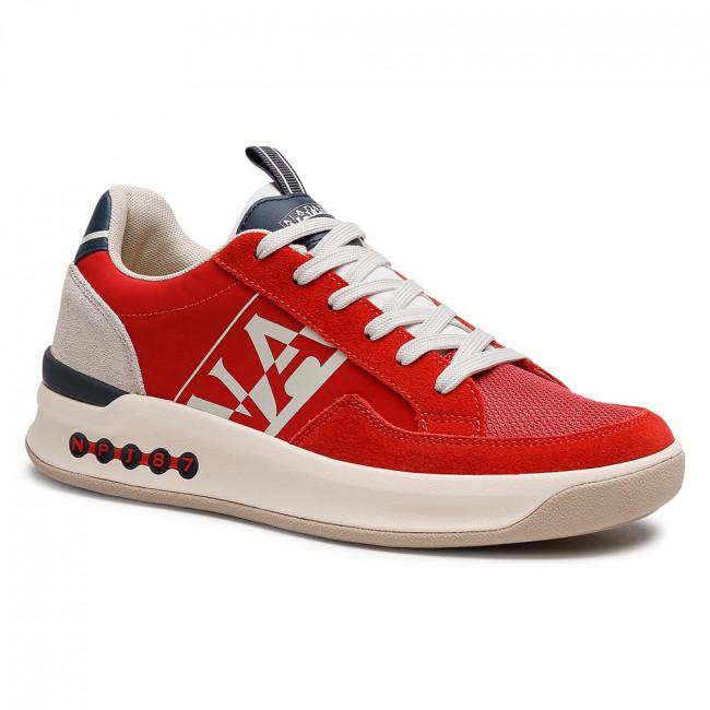 Trainers NAPAPIJRI - Egret NP0A4FK8R Cherry Red