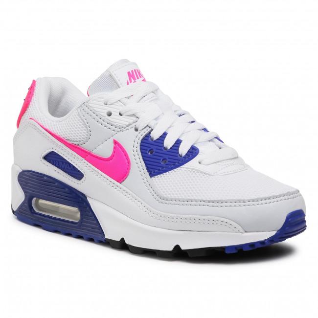 Footwear NIKE - Air Max 90 DC9209 100 White/Hyper Pink/Concord