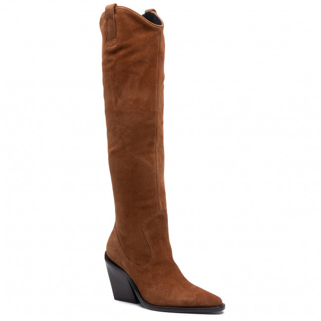 Knee High Boots BRONX - 14176-C Cognac 1606