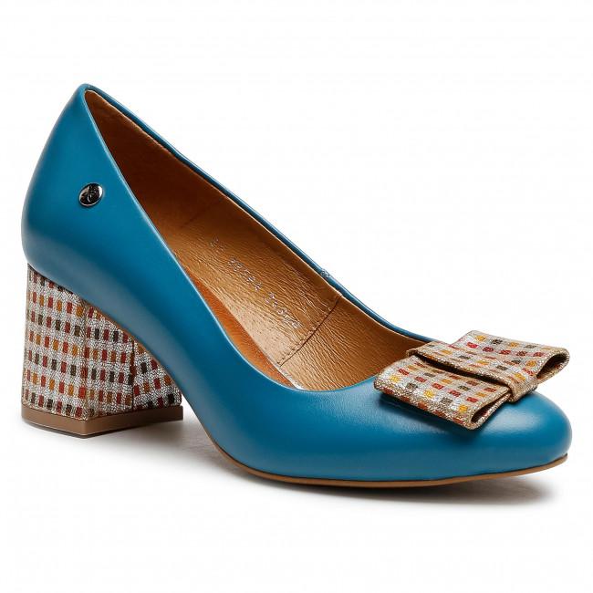 Shoes MACIEJKA - 3356A-36/00-1 Turkusowy