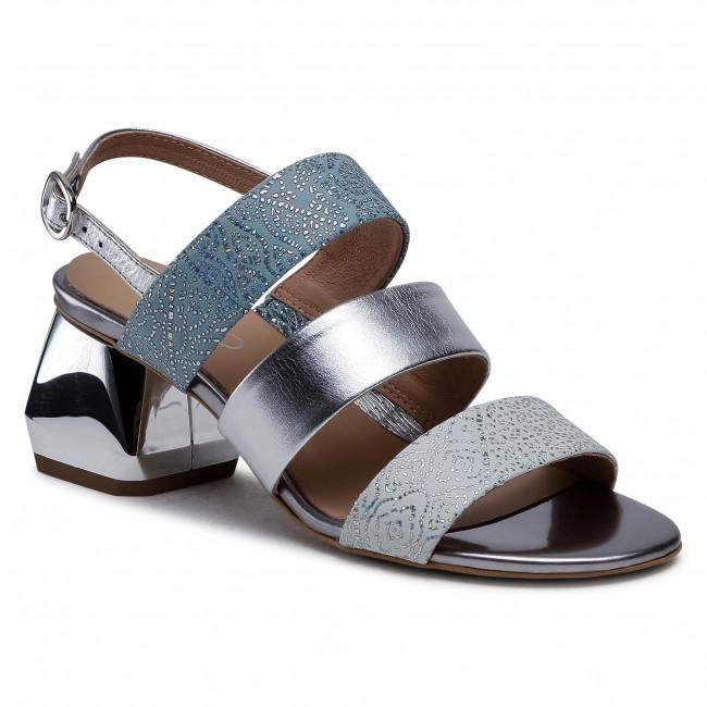 Sandals EDEO - 3669-S60/1284/939/1285 Srebro