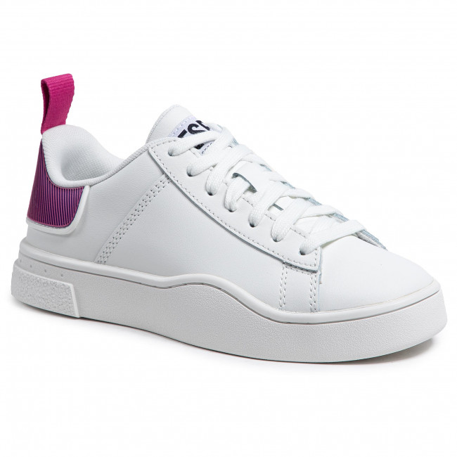 Trainers DIESEL -  S-Clever Low Lace W Y02042 P3816 H8440 Star White/Fandango