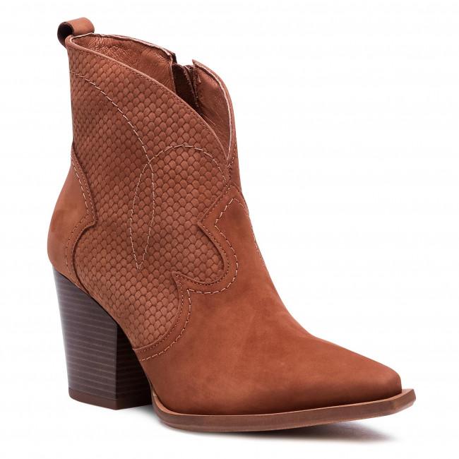 Ankle boots R.POLAŃSKI - 1228 Rudy Wb Nubuk Plecionka