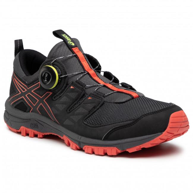 Footwear ASICS - Gel-FujiRado T7F2N Dark Grey/Red Snapper 020