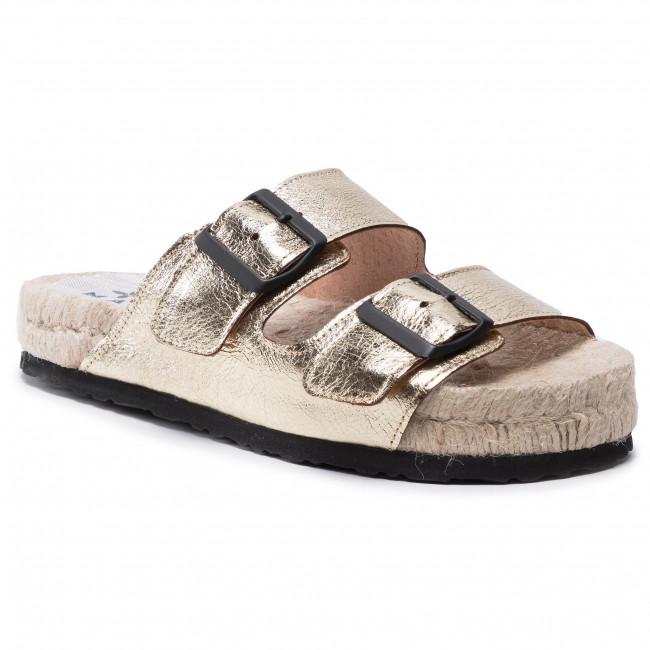 Espadrilles MANEBI - Nordic Sandals R 1.1 R0 Gold Metallic