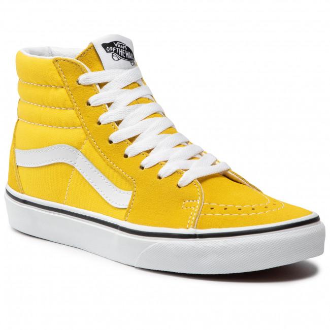 Trainers VANS - Sk8-Hi VN0A32QGCA11 Cyber Yellow/True White