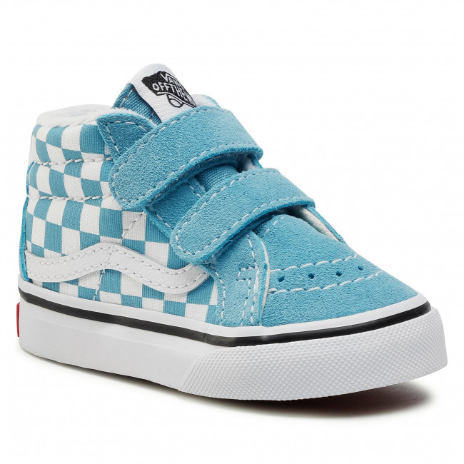 Trainers VANS - Sk8-Mid Reissue V VN0A5DXD30Y1 (Checkerbrd)Dlphnmbltrwht