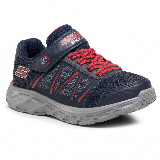 Trainers SKECHERS - Dynamic Flash 401530L/NVRD  Navy/Red