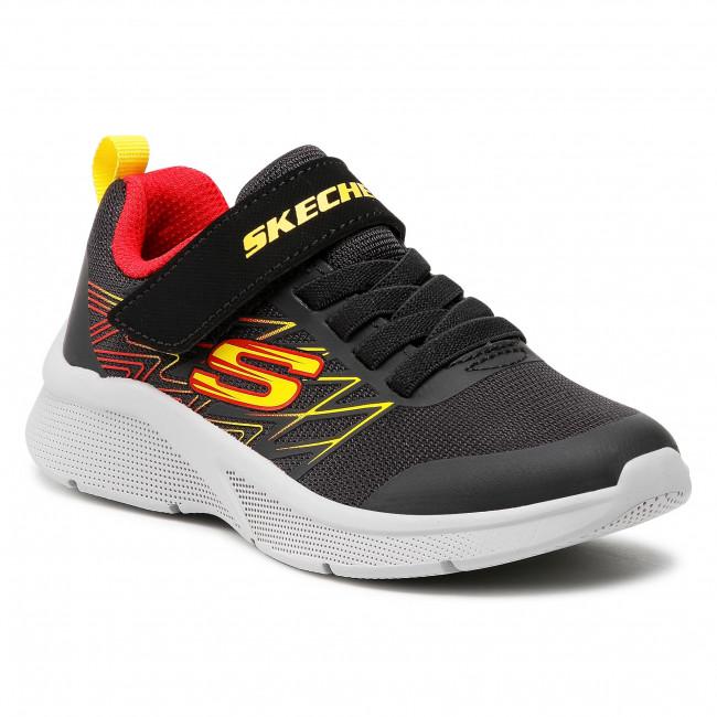 Footwear SKECHERS - Texlor 403770L/BKRD Black/Red