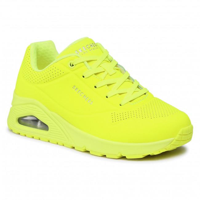 Trainers SKECHERS - Night Shades 73667/NYEL Neon/Yellow