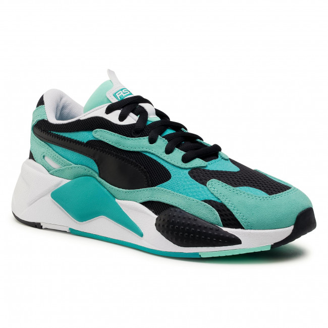 Trainers PUMA - Rs-X³ 372884 03 Green Glimmer/Puma Black