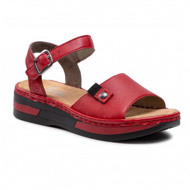 Sandals RIEKER - V59Y1-33 Braun
