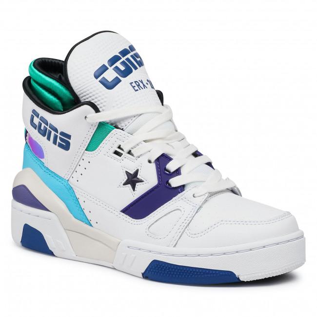Trainers CONVERSE - Erx 260 Mid 163779C White/Court Purple/Bold Jade