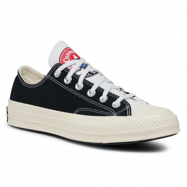 Sneakers CONVERSE - Chuck 70 Ox 166749C White/Black/Desert Ore
