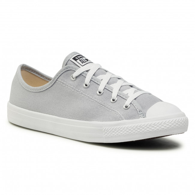 Sneakers CONVERSE - Ctas Dainty Ox 566770C Wolf Grey/White/White