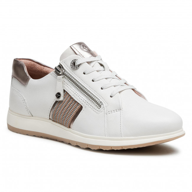 Trainers TAMARIS - 1-23755-26 White Leather 117
