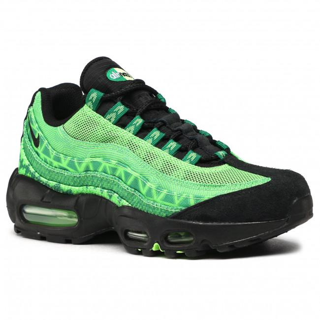Footwear NIKE - Air Max 95 Ctry CW2360 300 Pine Green/Black/Sub Lime