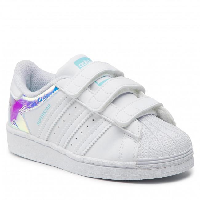 Footwear adidas - Superstar Cf C H03950 Ftwwht/Ftwwht/Pulaqu