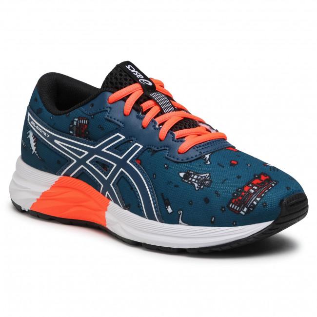 Footwear ASICS - Gel-Excite 7 Gs 1014A181 Mako Blue/White 401
