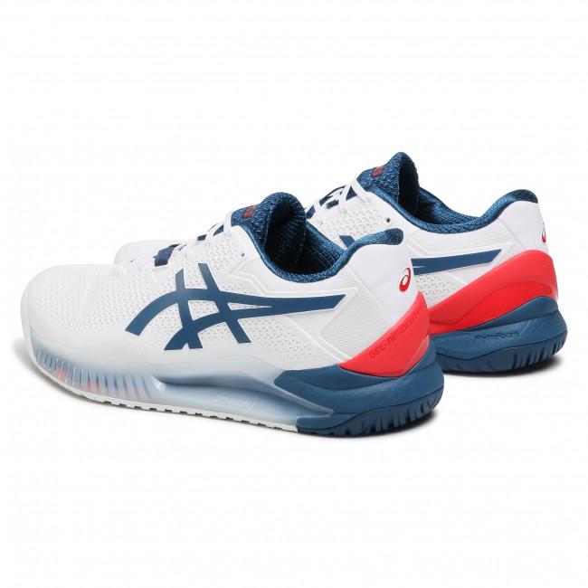 Footwear ASICS - Gel-Resolution 8 1041A079 White/Mako Blue 103
