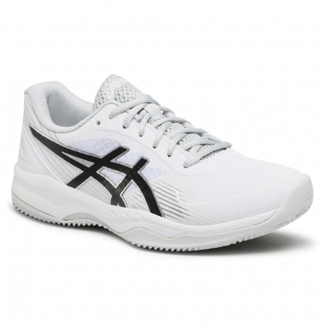 Footwear ASICS - Gel-Game 8 Clay/Oc 1041A193 White/Black 101