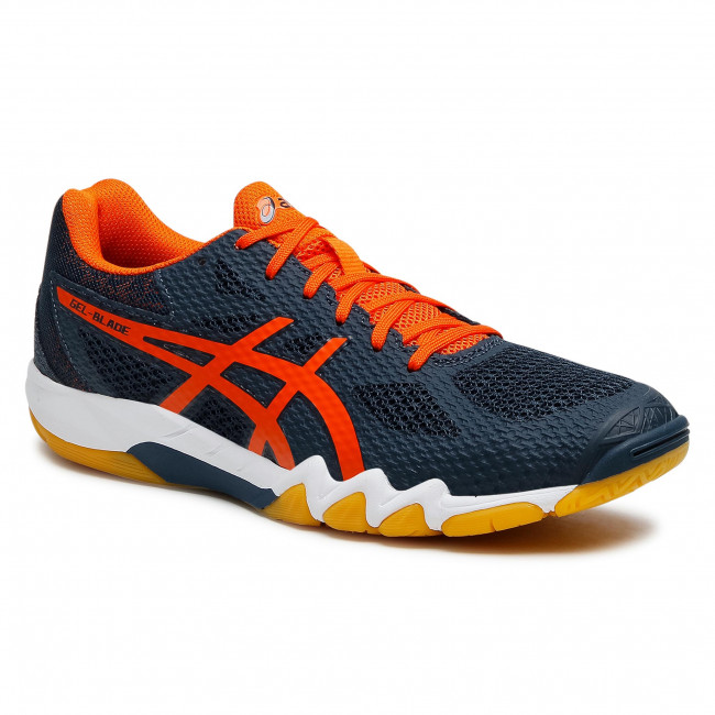 Footwear ASICS - Gel-Blade 7 1071A029 French Blue/Marigold Orange ...
