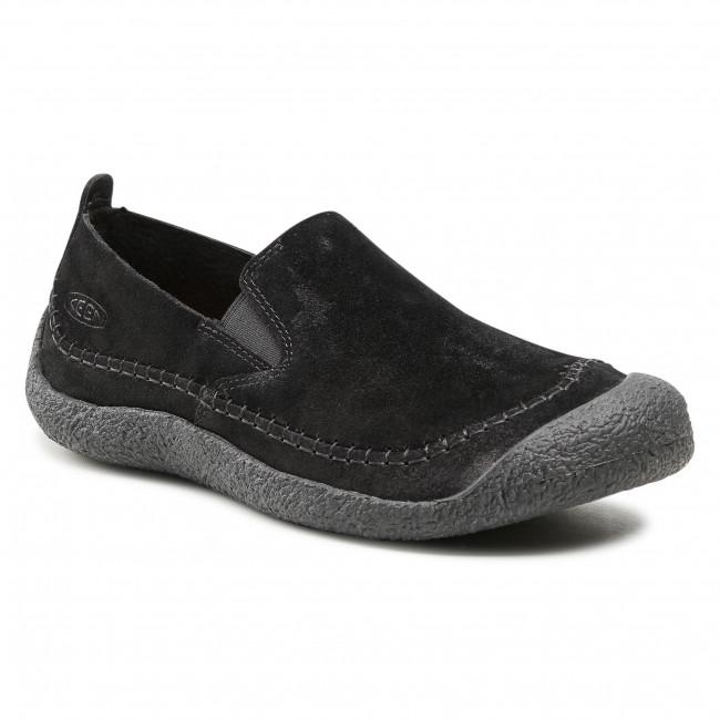 Shoes KEEN - Howser Suede Slip-On 1024944 Black/Black
