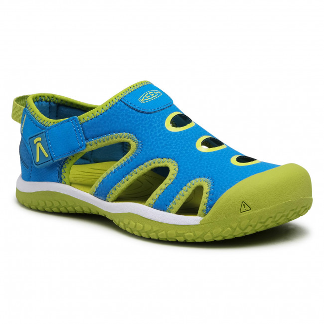 Sandals KEEN - Stingray 1022678 Brilliant Blue/Chartreuse