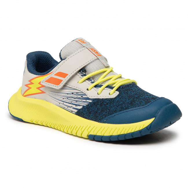 Footwear BABOLAT - Pulsion All Court Kid 32S21518  Dark Blue/Sulphur Spring