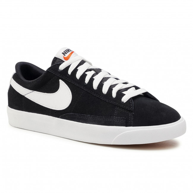 Footwear NIKE - Blazer Low Prm Vntg Suede 538402 004 Black/White