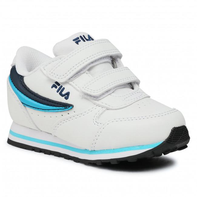 Trainers FILA - Orbit Velcro Infants 1011080.92E White/Fila Navy