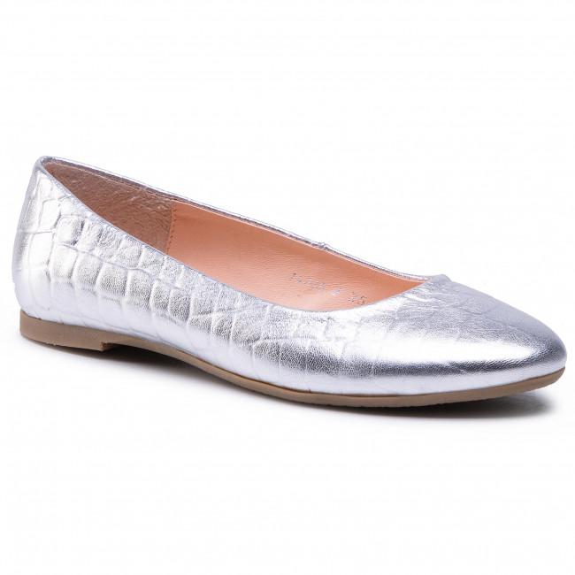 Flats BALDACCINI - 1472500 Krokodyl Srebro
