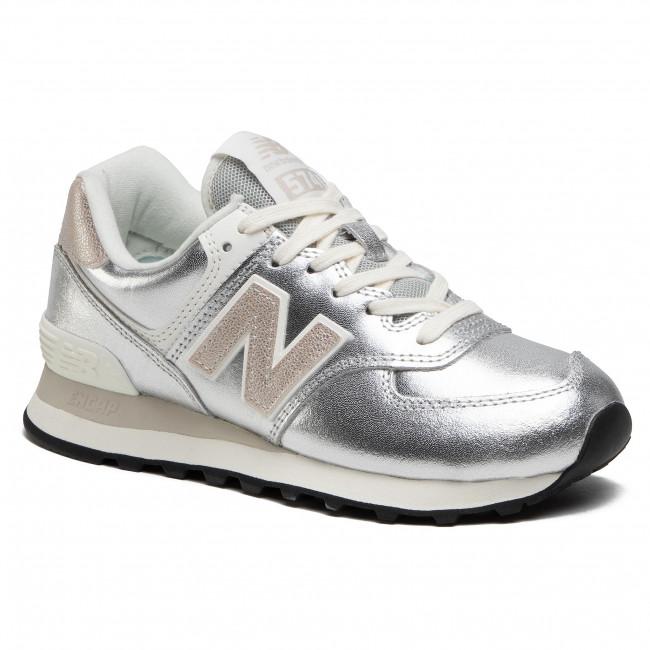 Trainers NEW BALANCE - WL574PR2 Silver