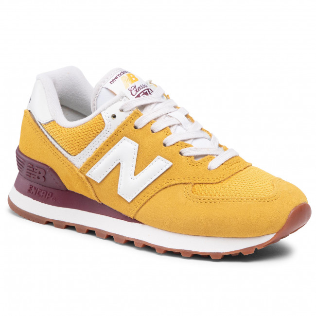 Trainers NEW BALANCE - WL574VE2 Yellow - Sneakers - Low shoes ...