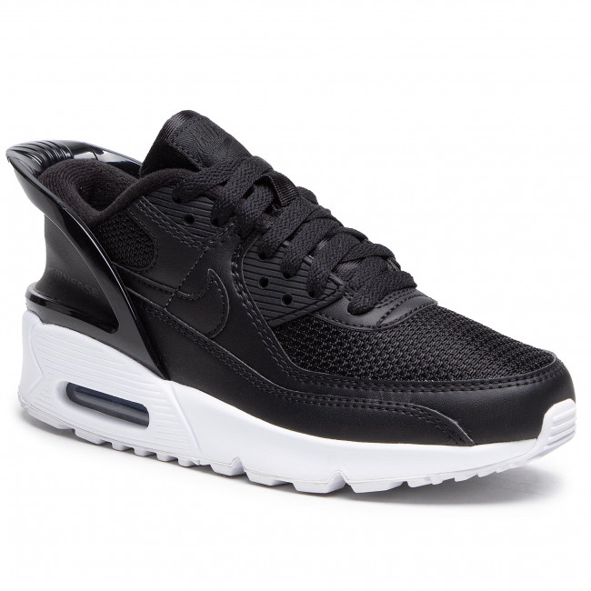 Footwear NIKE - Air Max 90 Flyease (GS) CV0526 003 Black/Black/White